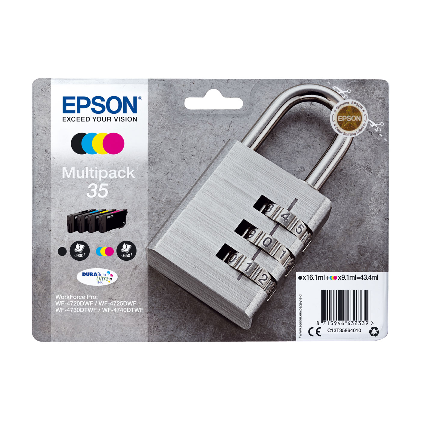 epson cadenas multipack 35 cartouche imprimante epson. Black Bedroom Furniture Sets. Home Design Ideas