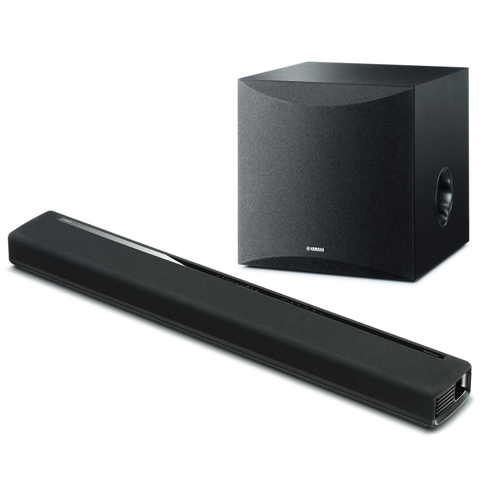 yamaha musiccast yas 306 noir ns sw050 noir barre de. Black Bedroom Furniture Sets. Home Design Ideas