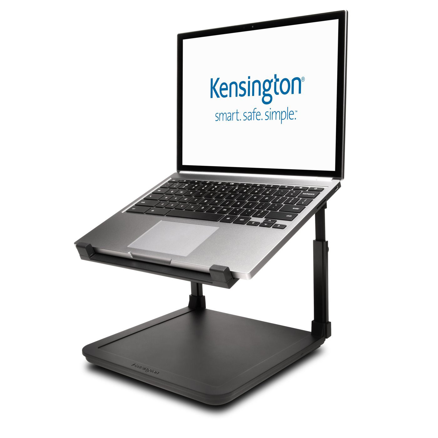 kensington smartfit laptop riser accessoires pc portable kensington sur. Black Bedroom Furniture Sets. Home Design Ideas
