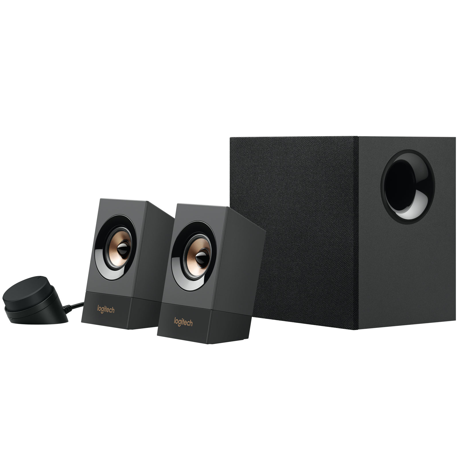 logitech z537 powerful speakers with bluetooth enceinte pc logitech sur. Black Bedroom Furniture Sets. Home Design Ideas