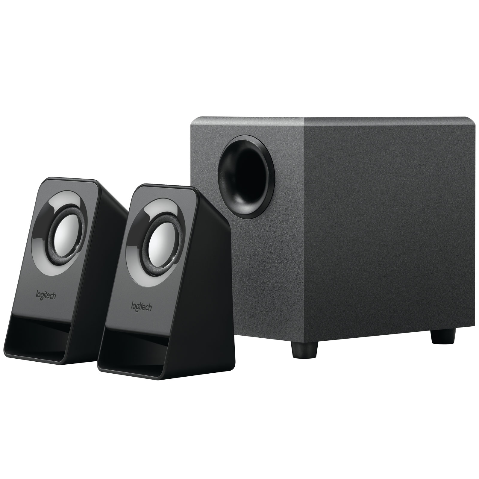 logitech z211 enceinte pc logitech sur. Black Bedroom Furniture Sets. Home Design Ideas