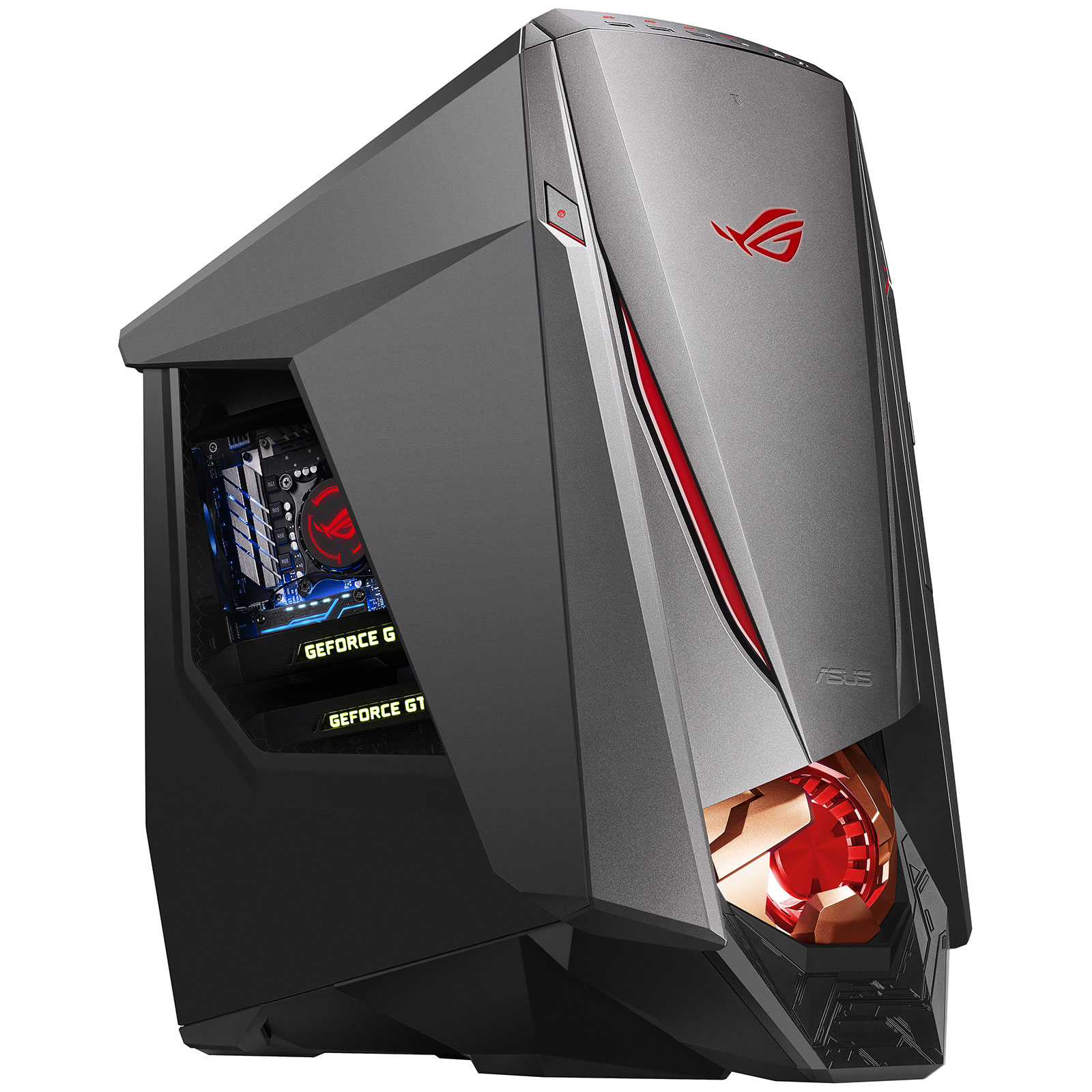 asus rog gt51ch fr026t souris asus rog gladius clavier. Black Bedroom Furniture Sets. Home Design Ideas