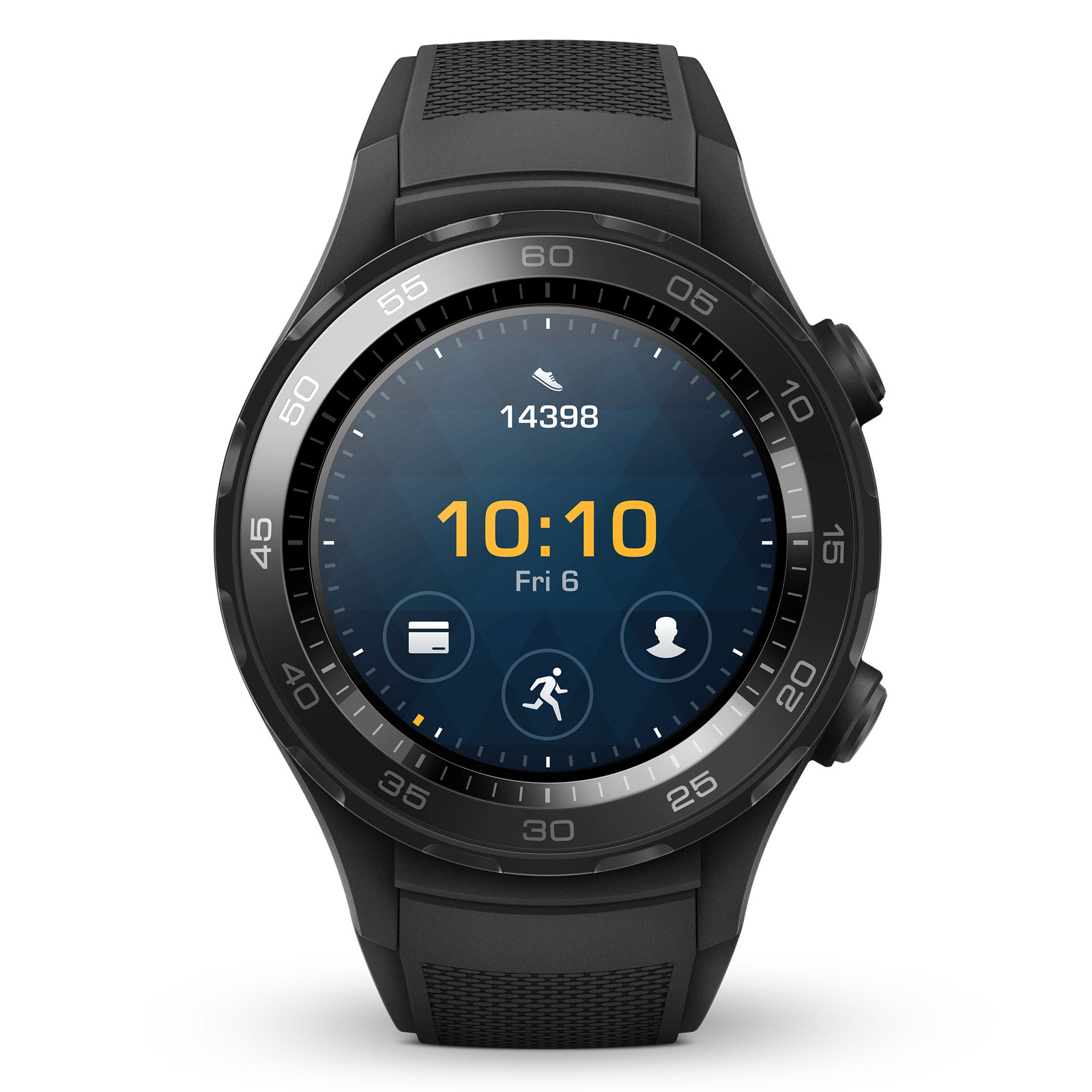 huawei watch 2 sport noir montre connect e huawei sur. Black Bedroom Furniture Sets. Home Design Ideas