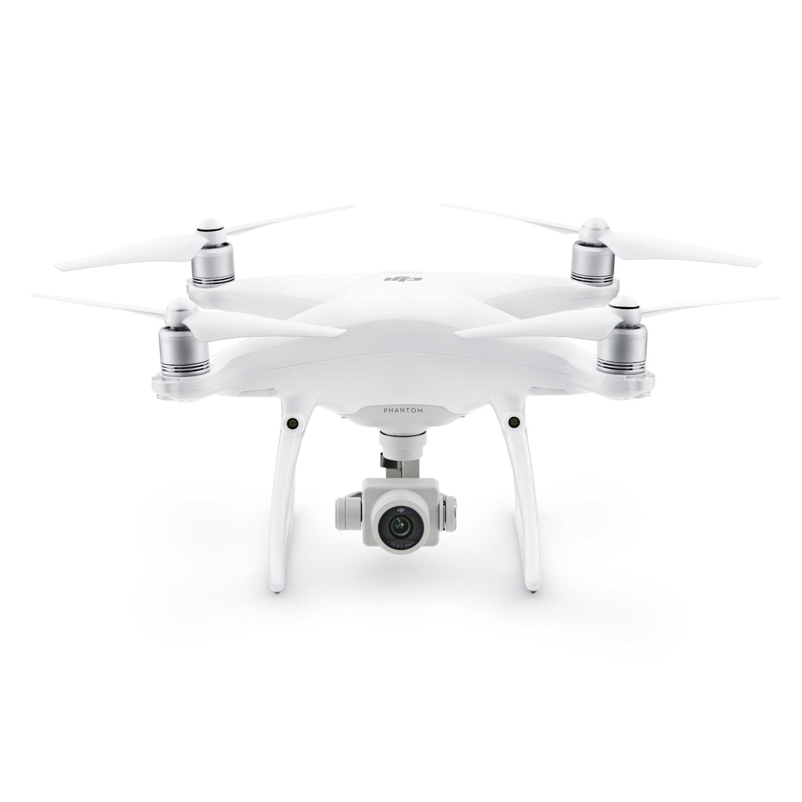 Drone DJI Phantom 4 Pro Plus Quadricoptère avec caméra embarquée 4K, portée 7000 m et radiocommande avec écran intégré (compatible iOS et Android)