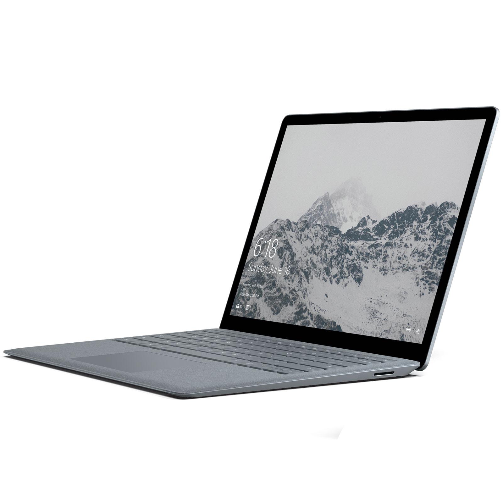 microsoft surface laptop intel core i5 4 go ssd 128 go pc portable microsoft sur. Black Bedroom Furniture Sets. Home Design Ideas