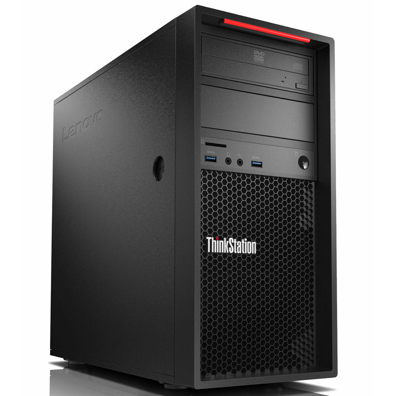PC de bureau Lenovo ThinkStation P320 Tour (30BH0003FR) Intel Core i7-7700 8 Go 1 To Graveur DVD Windows 10 Professionnel 64 bits - sans écran (Garantie constructeur 3 ans)