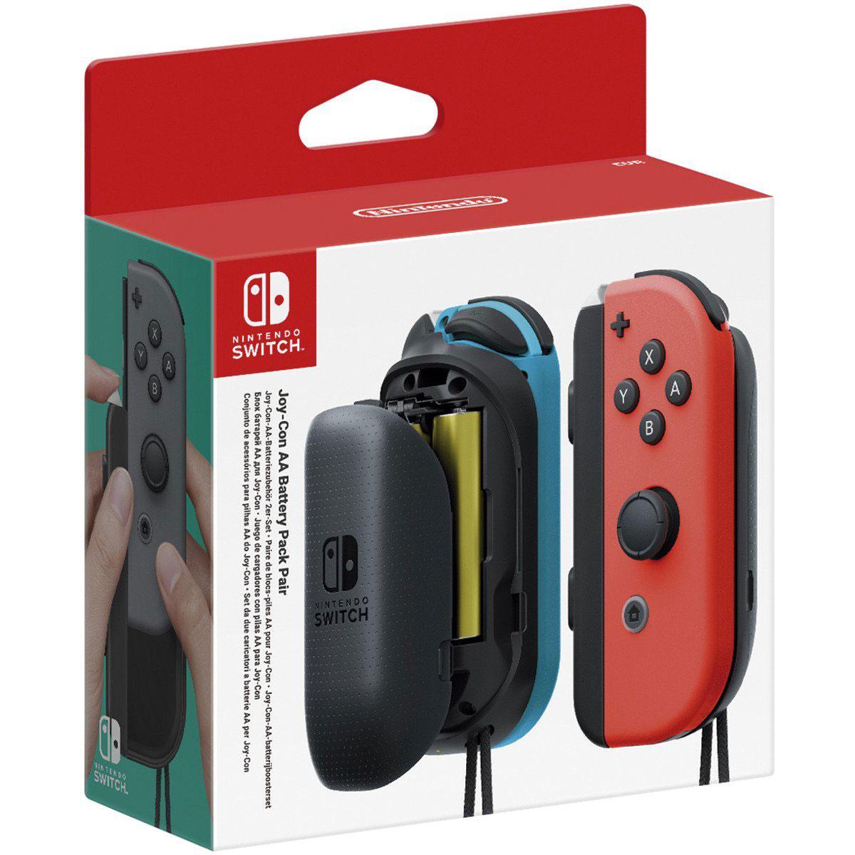 Achat Accessoires Nintendo Switch Nintendo Switch Paire de Blocs de Piles AA
