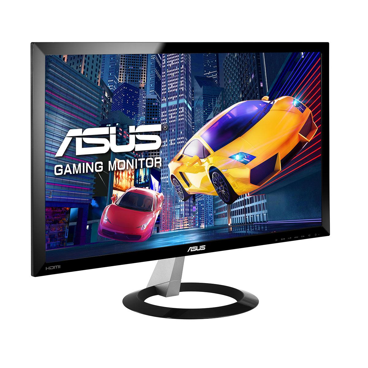 """Ecran PC ASUS 23"""" LED - VX238H 1920 x 1080 pixels - 1 ms (gris à gris) - Format large 16/9 - Flicker Free - 2x HDMI (garantie constructeur 3 ans)"""