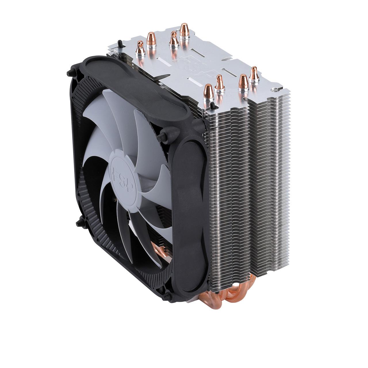 Ventilateur processeur FSP Windale 4 Ventilateur de processeur (pour Socket Intel 775/1150/1151/1155/1156/1366/2011et AMD AM2/AM2+/AM3/AM3/ AM4/FM1/FM2/FM2 )