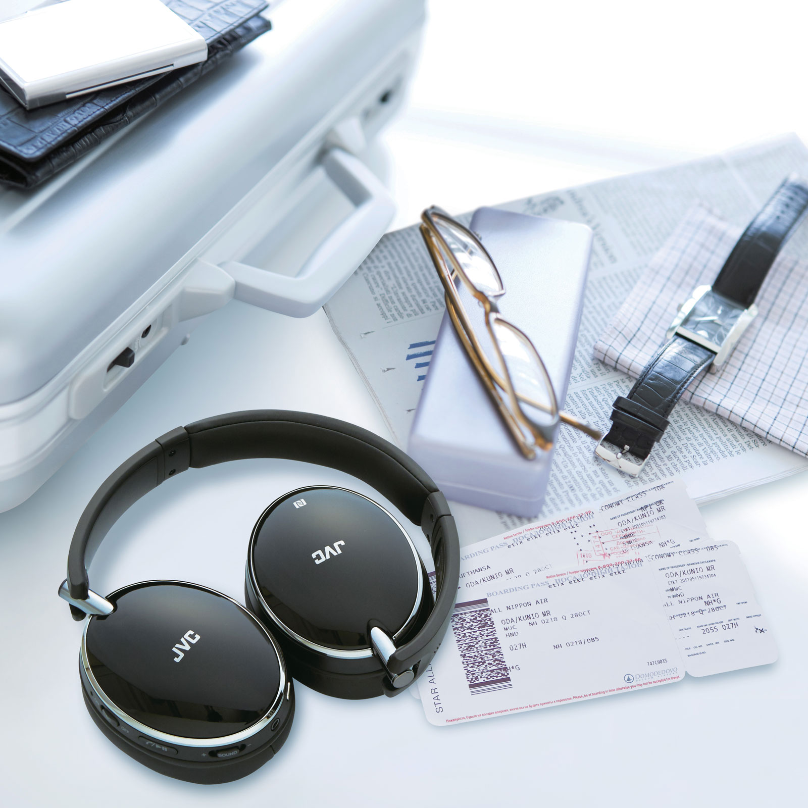 Jvc Ha S90bn Noise Cancelling Wireless Headphone Stereo Electronics
