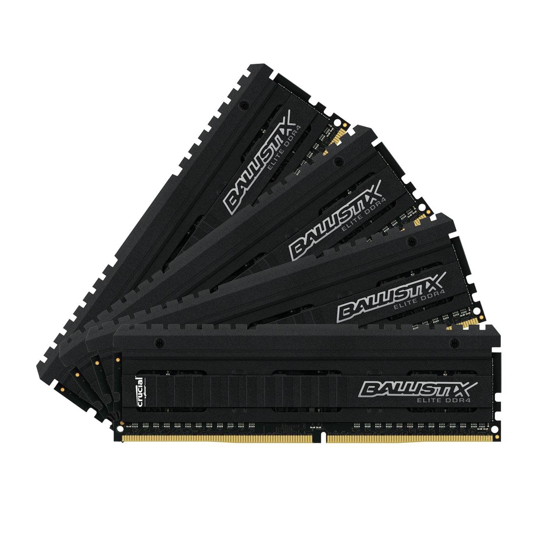 Ballistix Elite 64 Go (4 x 16 Go) DDR4 3200 MHz CL16