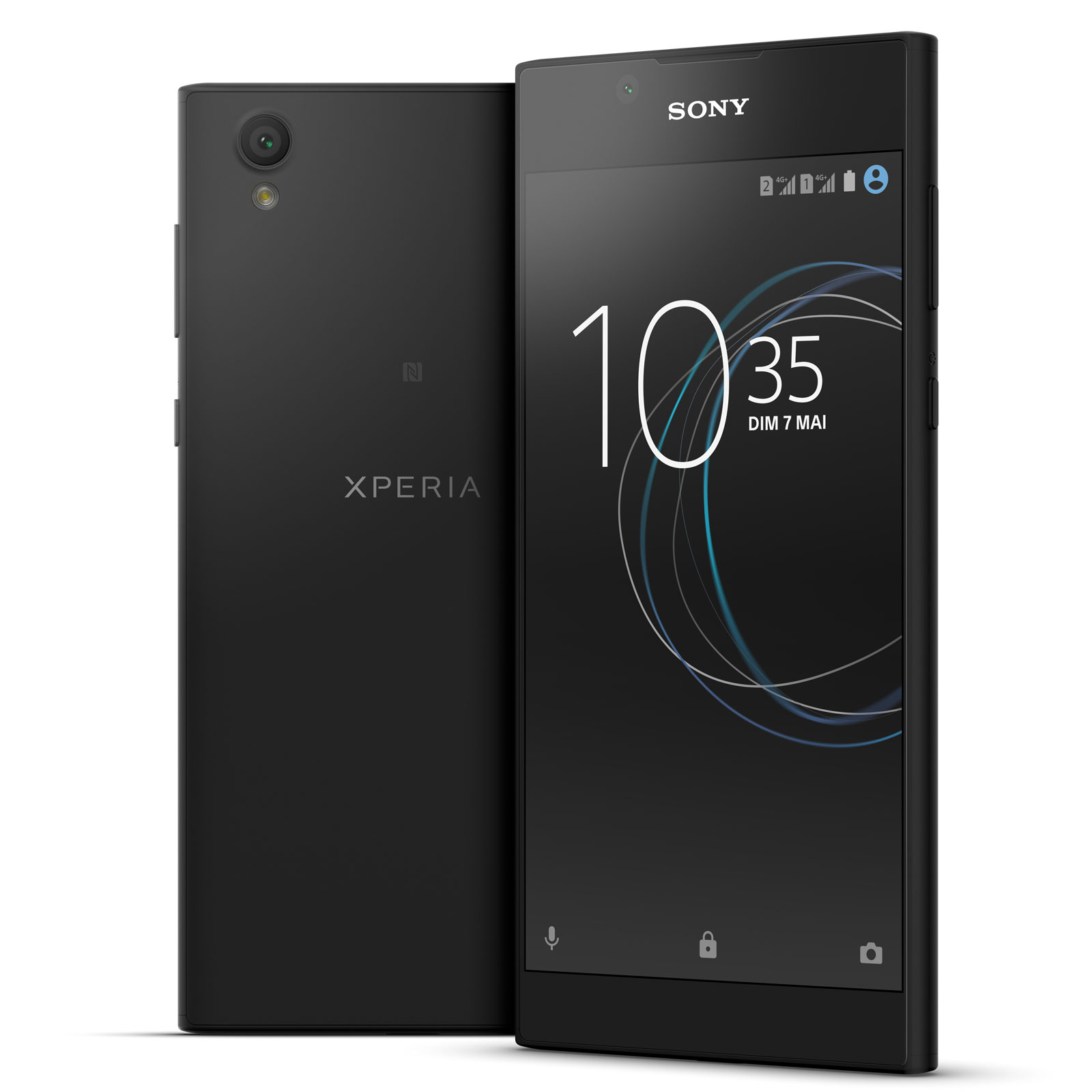 sony xperia l1 dual sim 16 go noir mobile smartphone. Black Bedroom Furniture Sets. Home Design Ideas