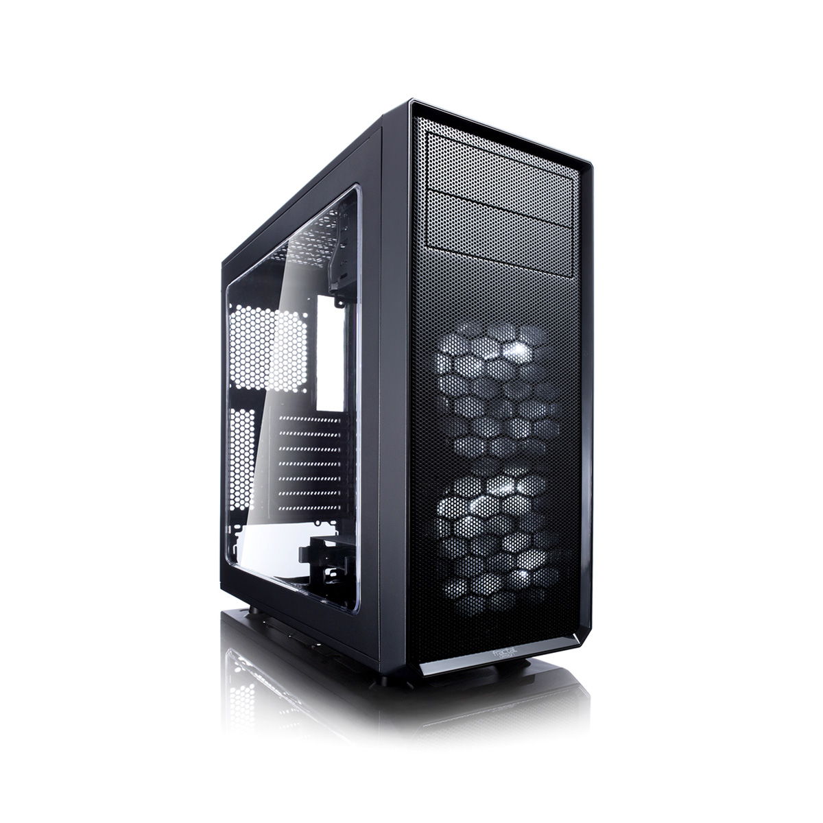 fractal design focus g noir fd ca focus bk w achat bo tier pc fractal design pour. Black Bedroom Furniture Sets. Home Design Ideas