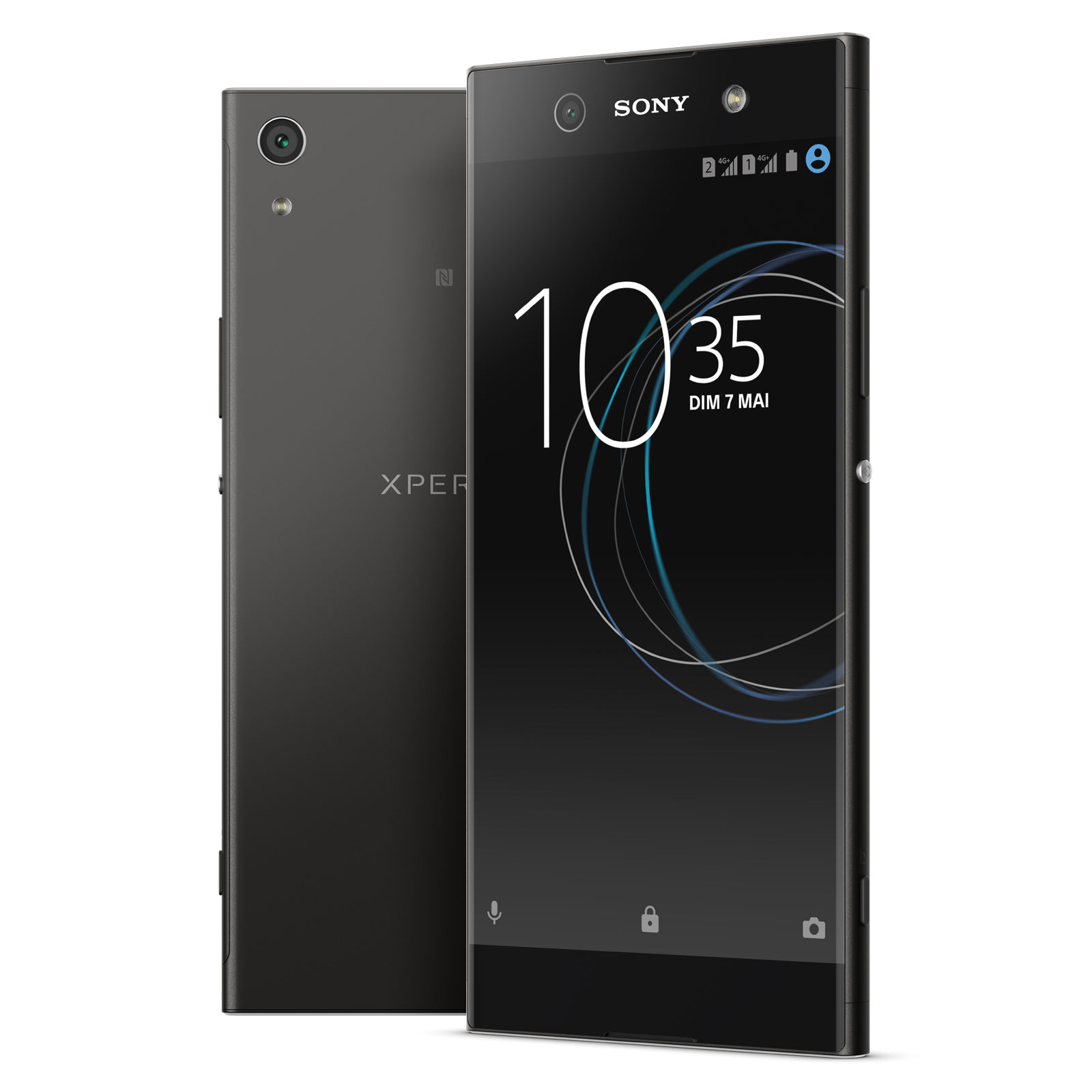 sony xperia xa1 ultra dual sim 32 go noir mobile smartphone sony sur. Black Bedroom Furniture Sets. Home Design Ideas