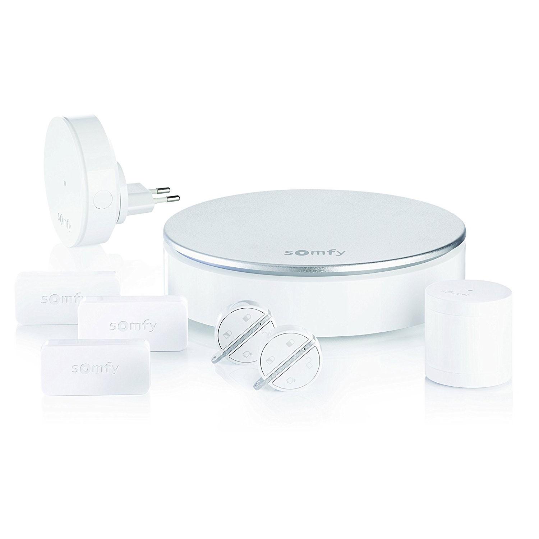 somfy kit home alarm kit alarme somfy sur. Black Bedroom Furniture Sets. Home Design Ideas