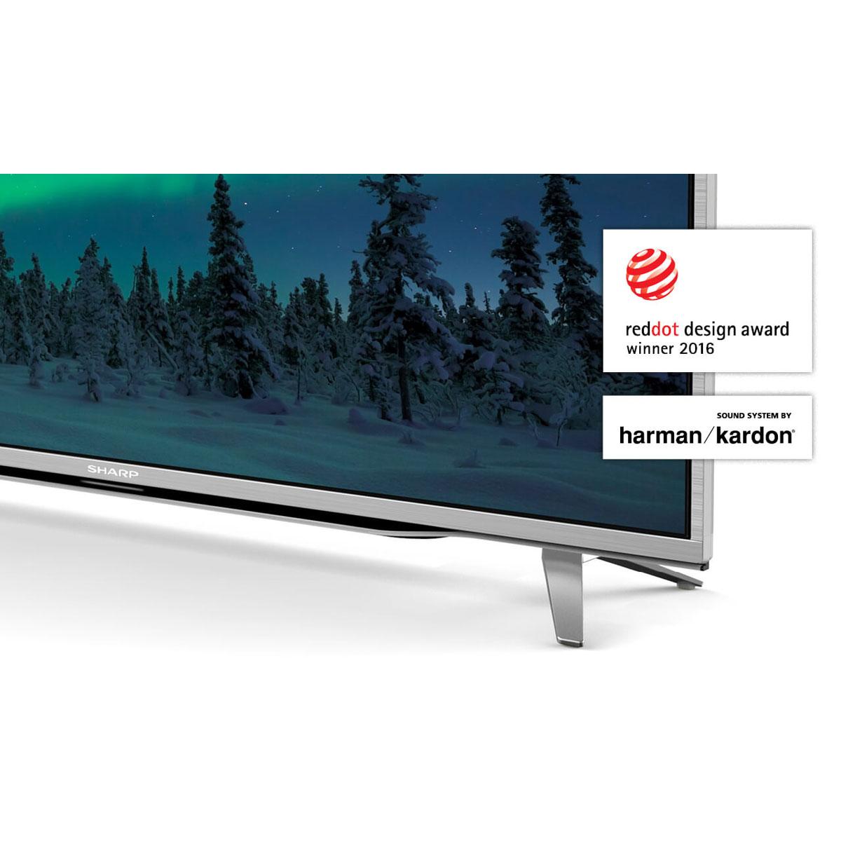 sharp lc 49cuf8472es tv sharp sur. Black Bedroom Furniture Sets. Home Design Ideas