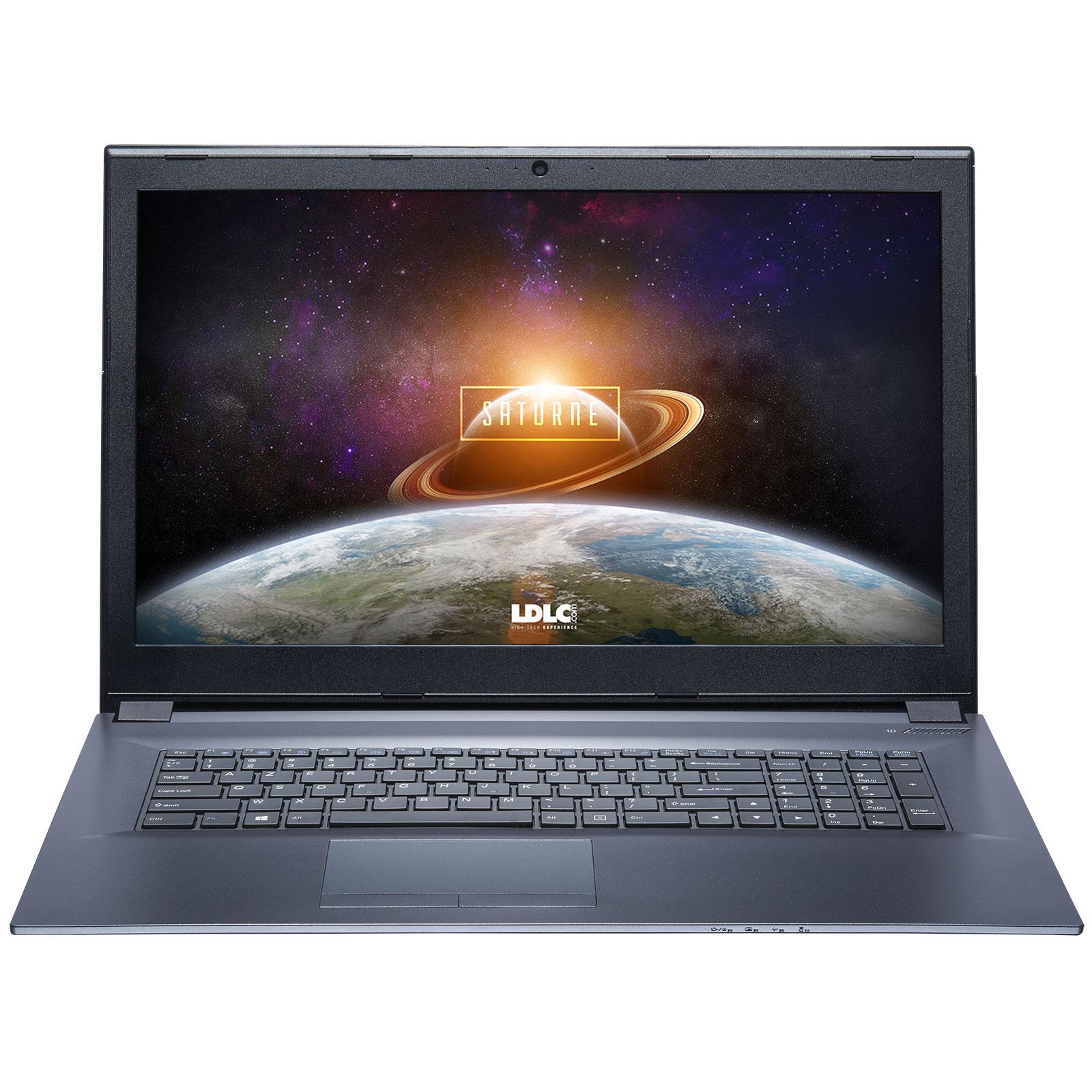 "PC portable LDLC Saturne AK51B-I5-8-H10S2 Intel Core i5-7300HQ 8 Go SSD 240 Go + HDD 1 To 17.3"" LED Full HD NVIDIA GeForce GTX 1050 4 Go Wi-Fi AC/Bluetooth Webcam (sans OS)"