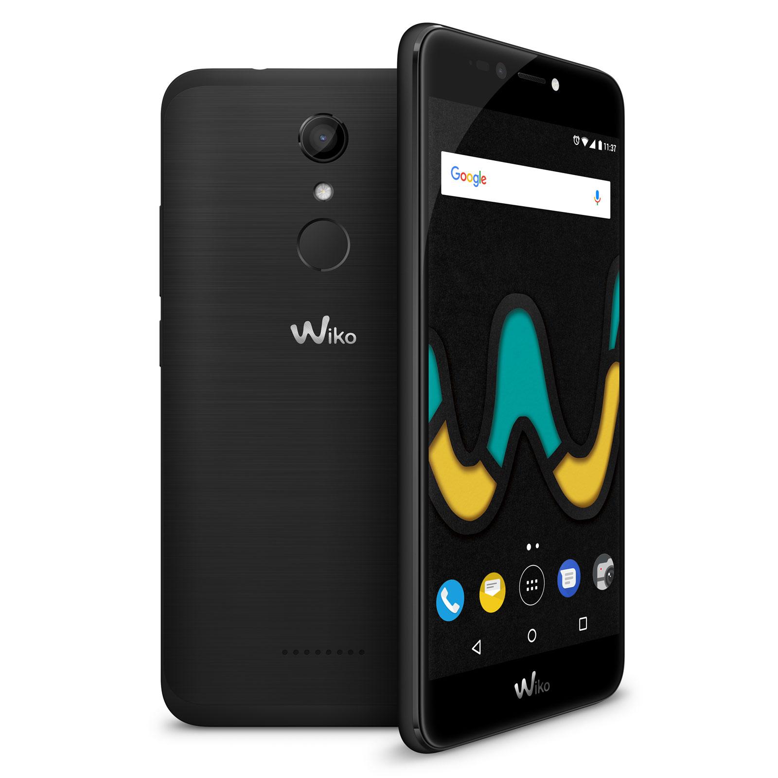 "Mobile & smartphone Wiko Upulse Noir Smartphone 4G-LTE Dual SIM - ARM Cortex-A53 Quad-Core 1.3 GHz - RAM 3 Go - Ecran tactile 5.5"" 720 x 1280 - 32 Go - Bluetooth 4.0 - 3000 mAh - Android 7.0"