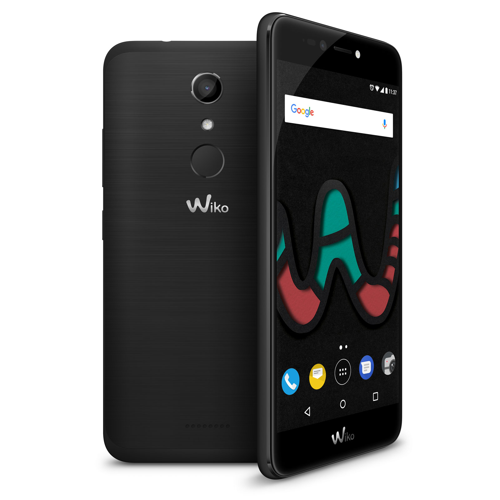wiko upulse lite noir mobile smartphone wiko sur. Black Bedroom Furniture Sets. Home Design Ideas