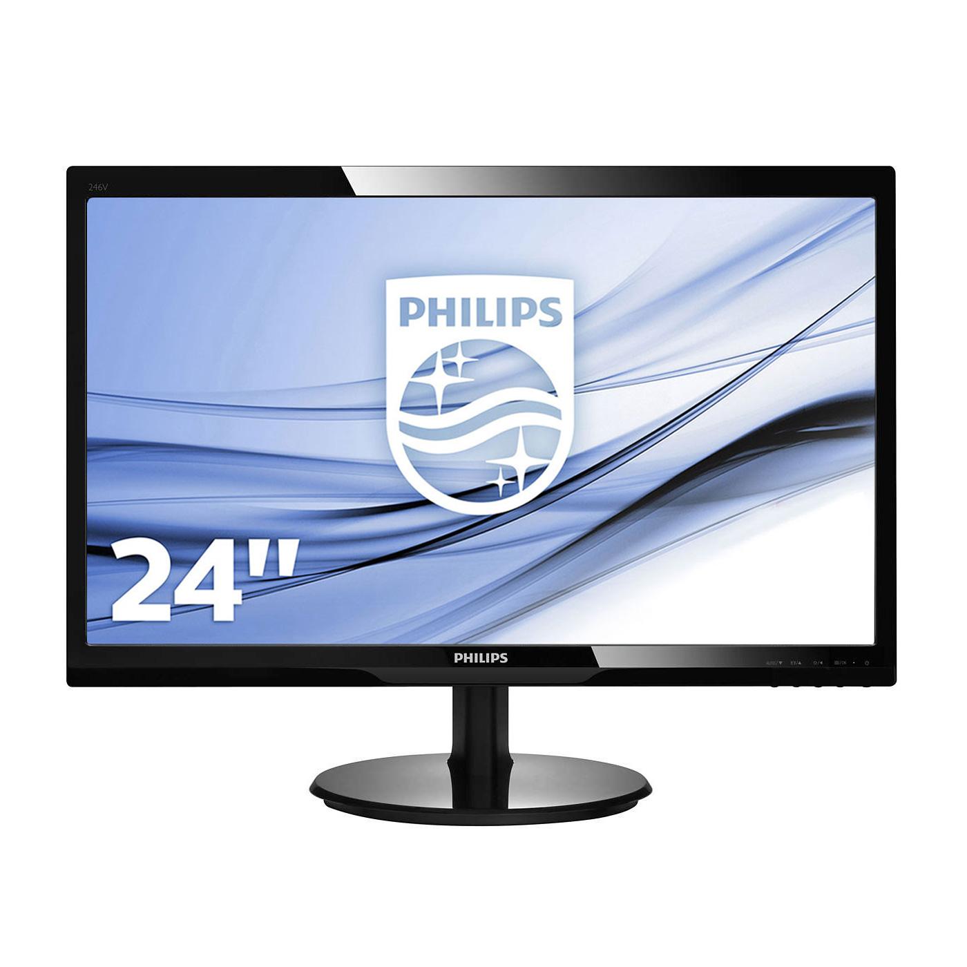 Philips 24 led 246v5ldsb ecran pc philips sur for Ecran pc 24 pouces