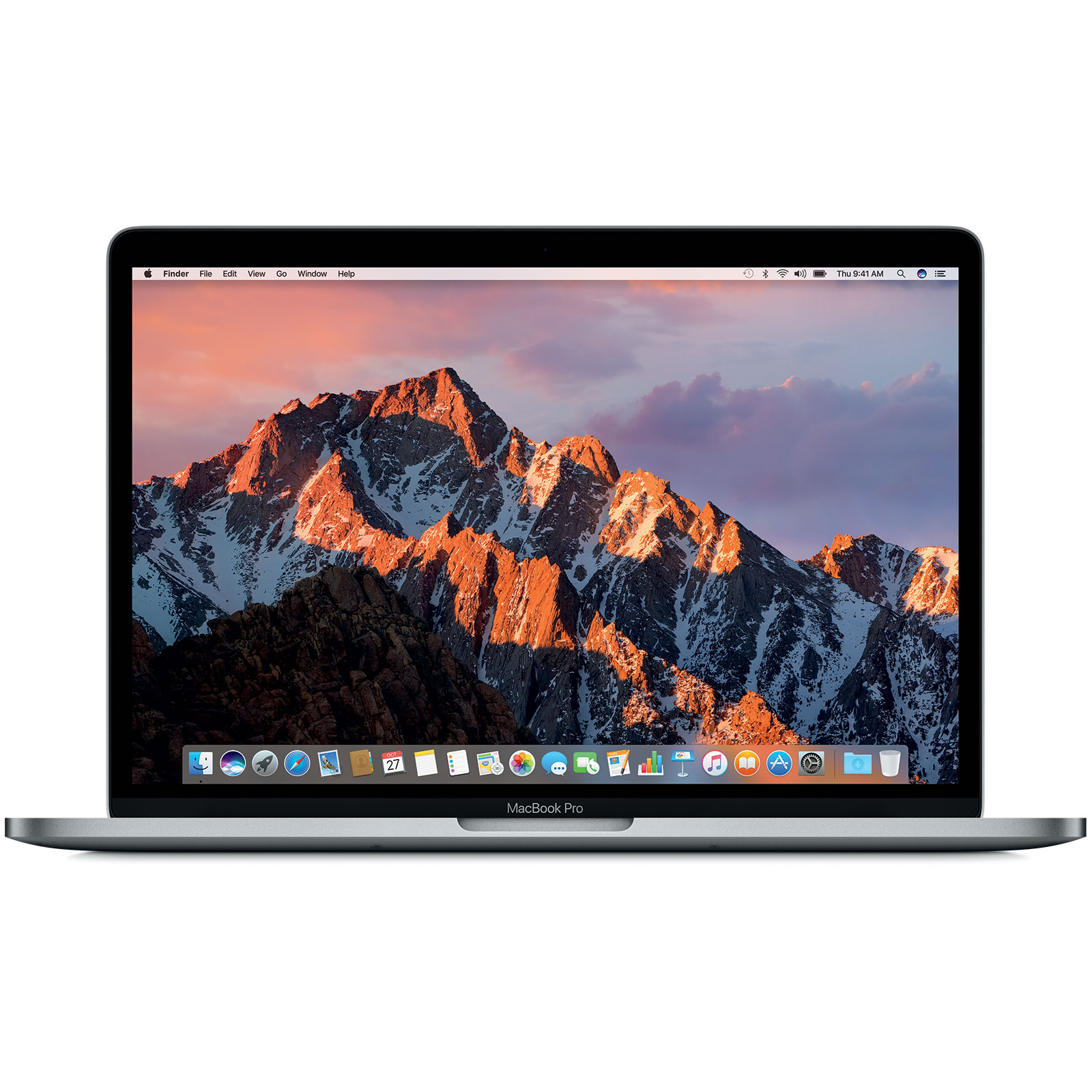 "Macbook Apple MacBook Pro 13"" Gris sidéral (MR9Q2FN/A) Intel Core i5 (2.3 GHz) 8 Go SSD 256 Go 13.3"" LED Wi-Fi AC/Bluetooth Webcam Mac OS High Sierra"