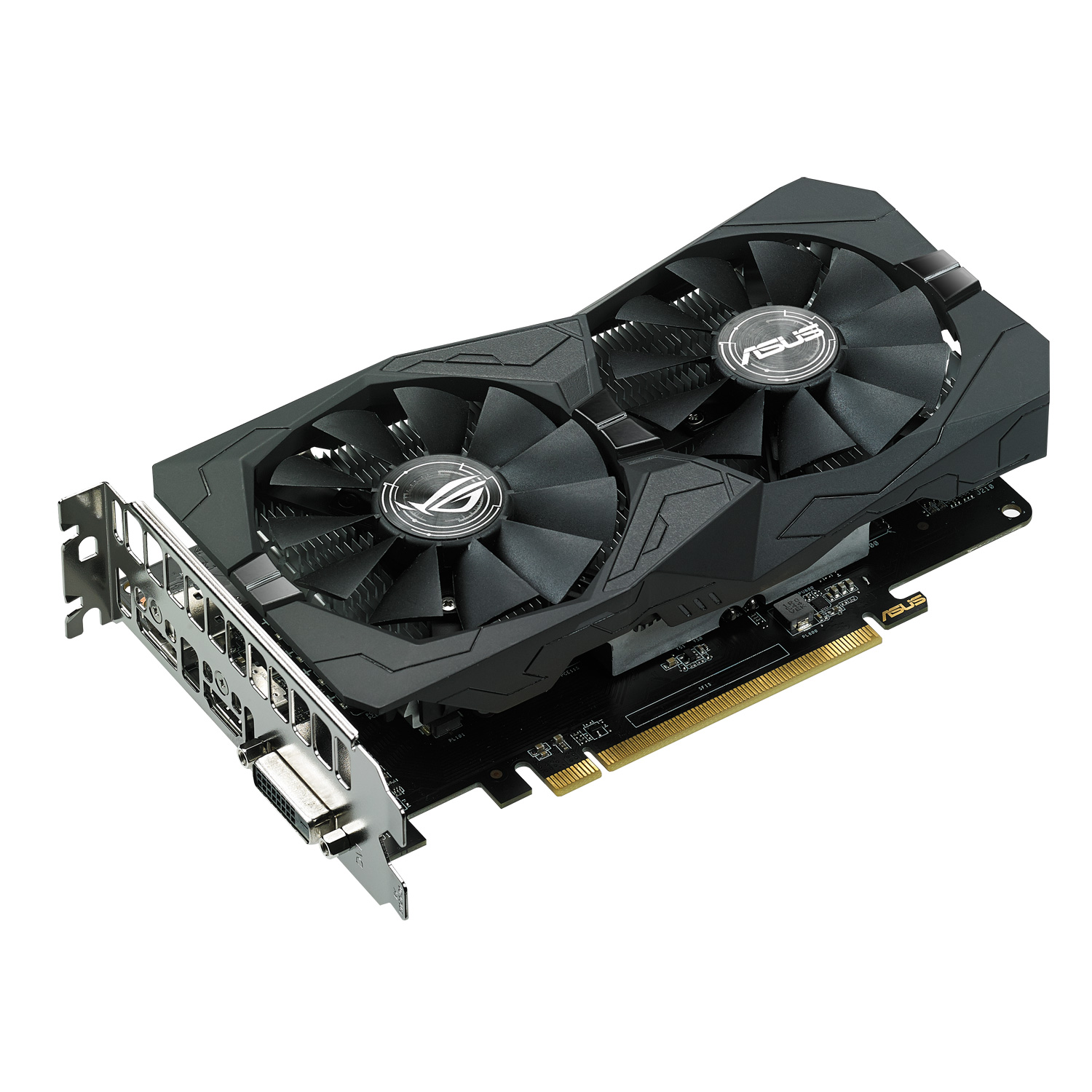 Carte graphique ASUS ROG STRIX AMD Radeon RX 560 4G Gaming 4 Go DVI HDMI DisplayPort - PCI Express (AMD Radeon RX 560)