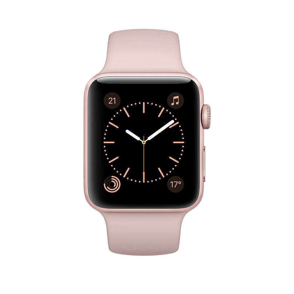apple watch series 2 aluminium or rose sport rose 38 mm. Black Bedroom Furniture Sets. Home Design Ideas