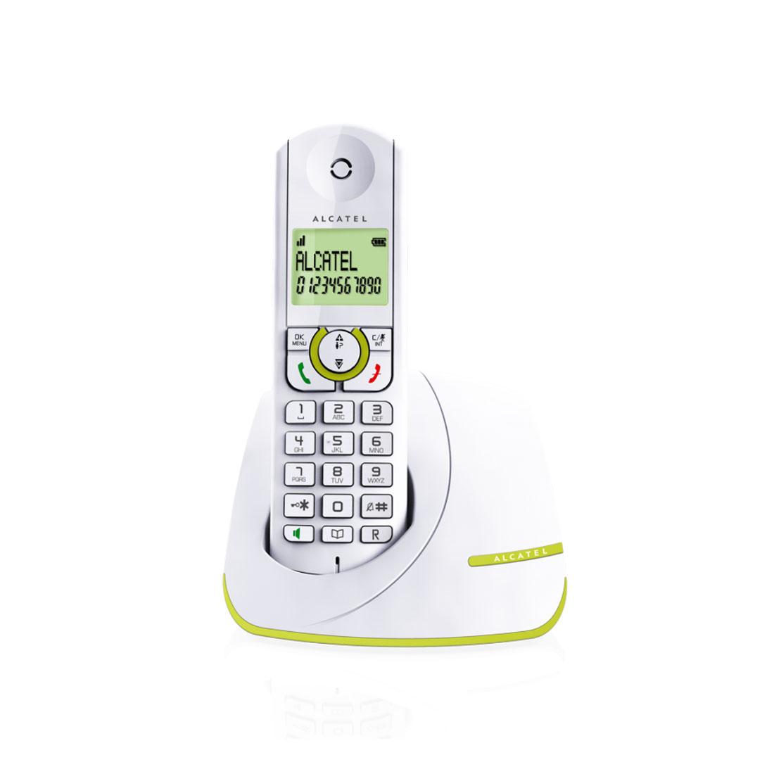 Téléphone sans fil Alcatel F390 Vert Téléphone sans fil