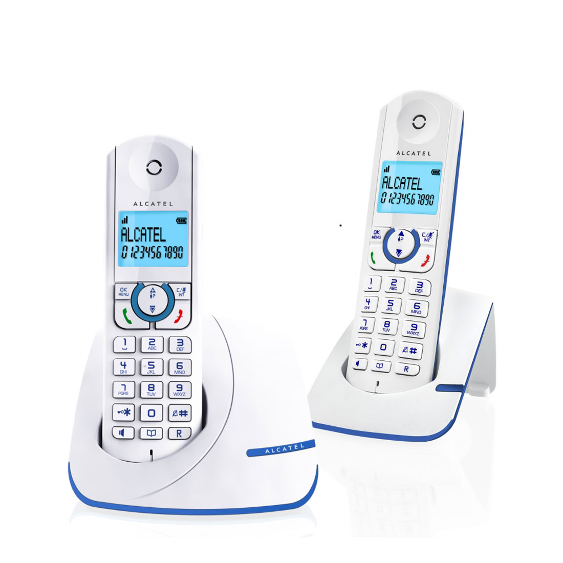 alcatel f390 duo bleu t l phone sans fil alcatel sur. Black Bedroom Furniture Sets. Home Design Ideas