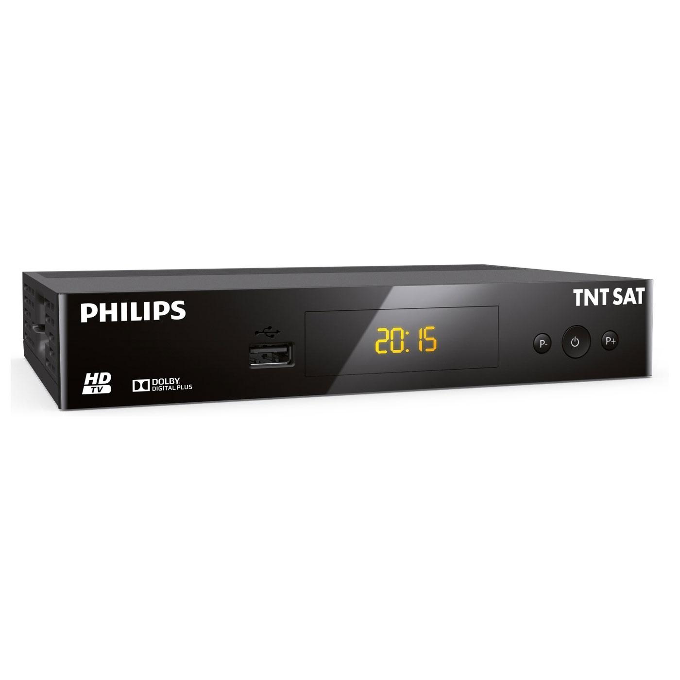 philips dsr3231t adaptateur tnt sat philips sur. Black Bedroom Furniture Sets. Home Design Ideas