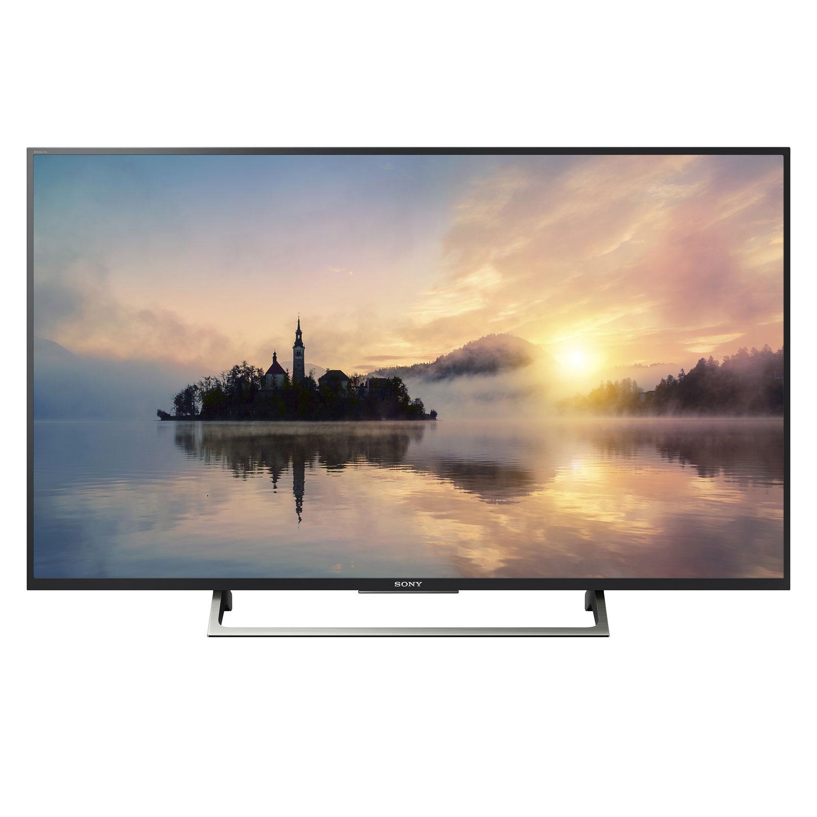 "TV Sony KD-55XE7005 Téléviseur LED 4K 55"" (140 cm) 16/9 - 3840 x 2160 pixels - TNT, Câble et Satellite HD - HDR - Ultra HD 2160p - Wi-Fi - 200 Hz"