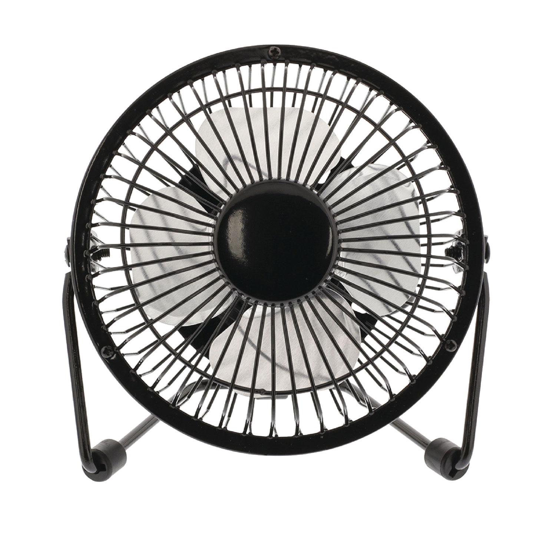 Hq mini ventilateur usb noir goodies hq sur - Mini ventilateur de bureau ...