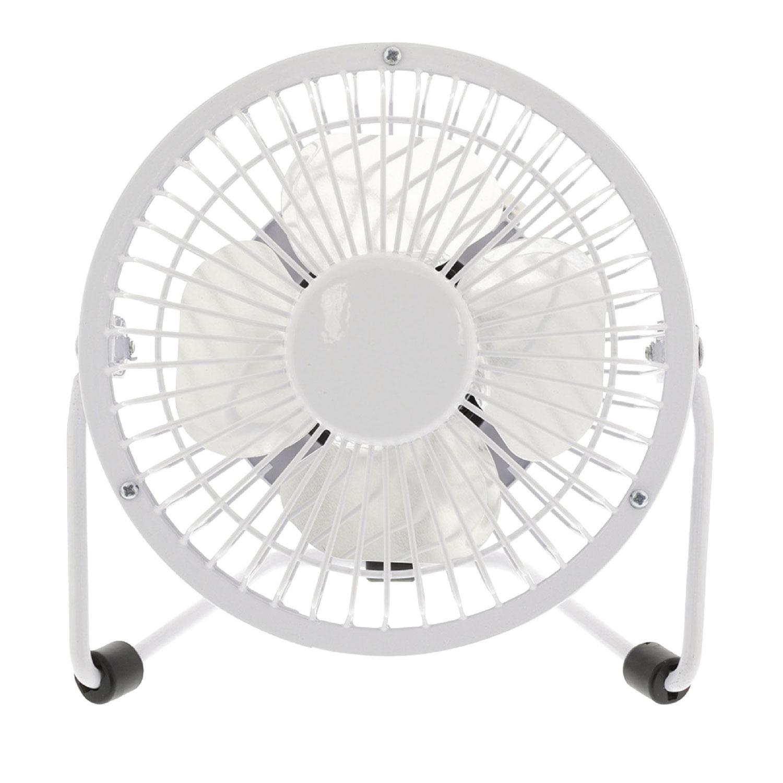 Hq mini ventilateur usb blanc goodies hq sur - Mini ventilateur de bureau ...