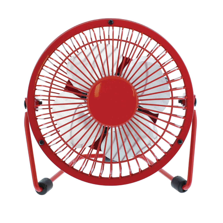 Hq mini ventilateur usb rouge goodies hq sur - Mini ventilateur de bureau ...