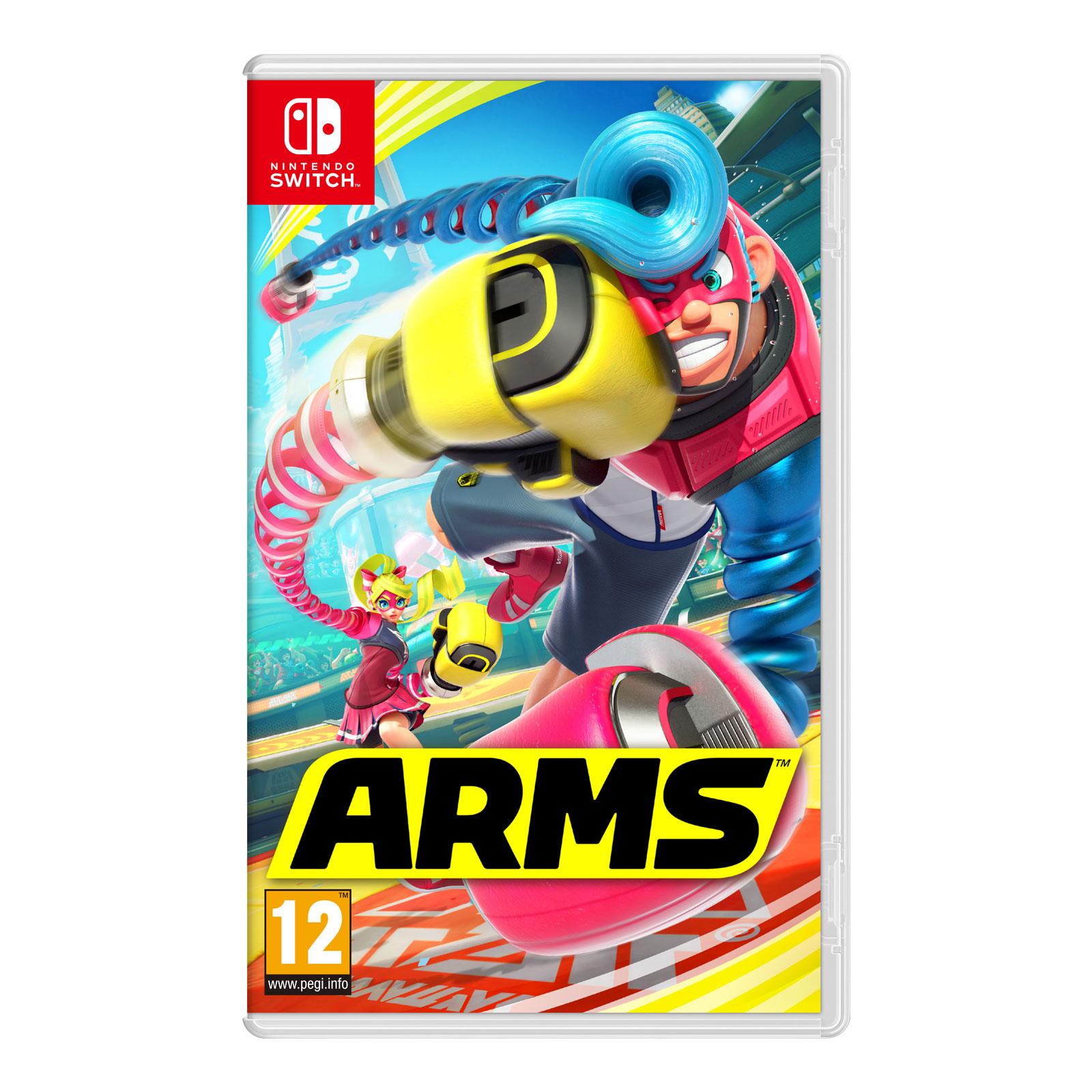 Jeux Nintendo Switch ARMS (Switch) ARMS (Switch)