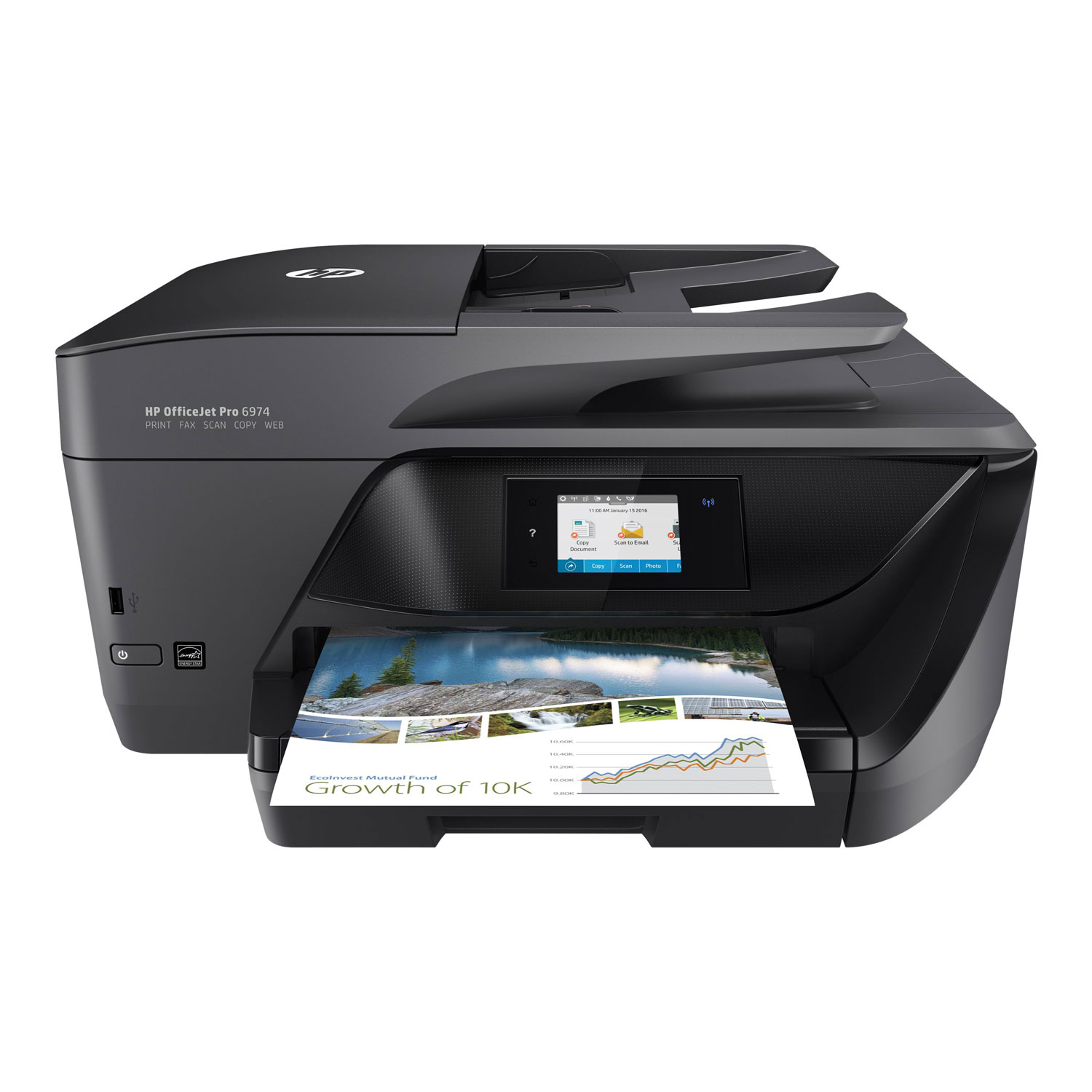 hp officejet pro 6974 imprimante multifonction hp sur. Black Bedroom Furniture Sets. Home Design Ideas
