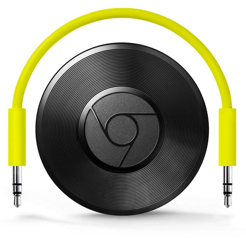 Réseau & Streaming audio Google Chromecast Audio Appareil Multimédia de diffusion de contenus pour Smartphone et Tablette
