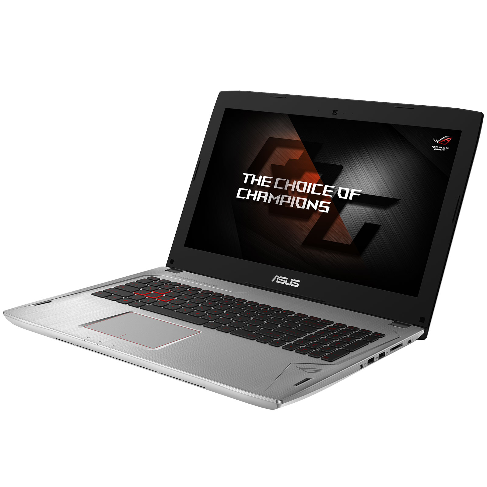 "PC portable ASUS ROG STRIX GL502VM-FY534T Intel Core i7-7700HQ 8 Go SSD 128 Go + HDD 1 To 15.6"" LED Full HD G-SYNC NVIDIA GeForce GTX 1060 3 Go Wi-Fi AC/Bluetooth Webcam Windows 10 Famille 64 bits (garantie constructeur 2 ans)"