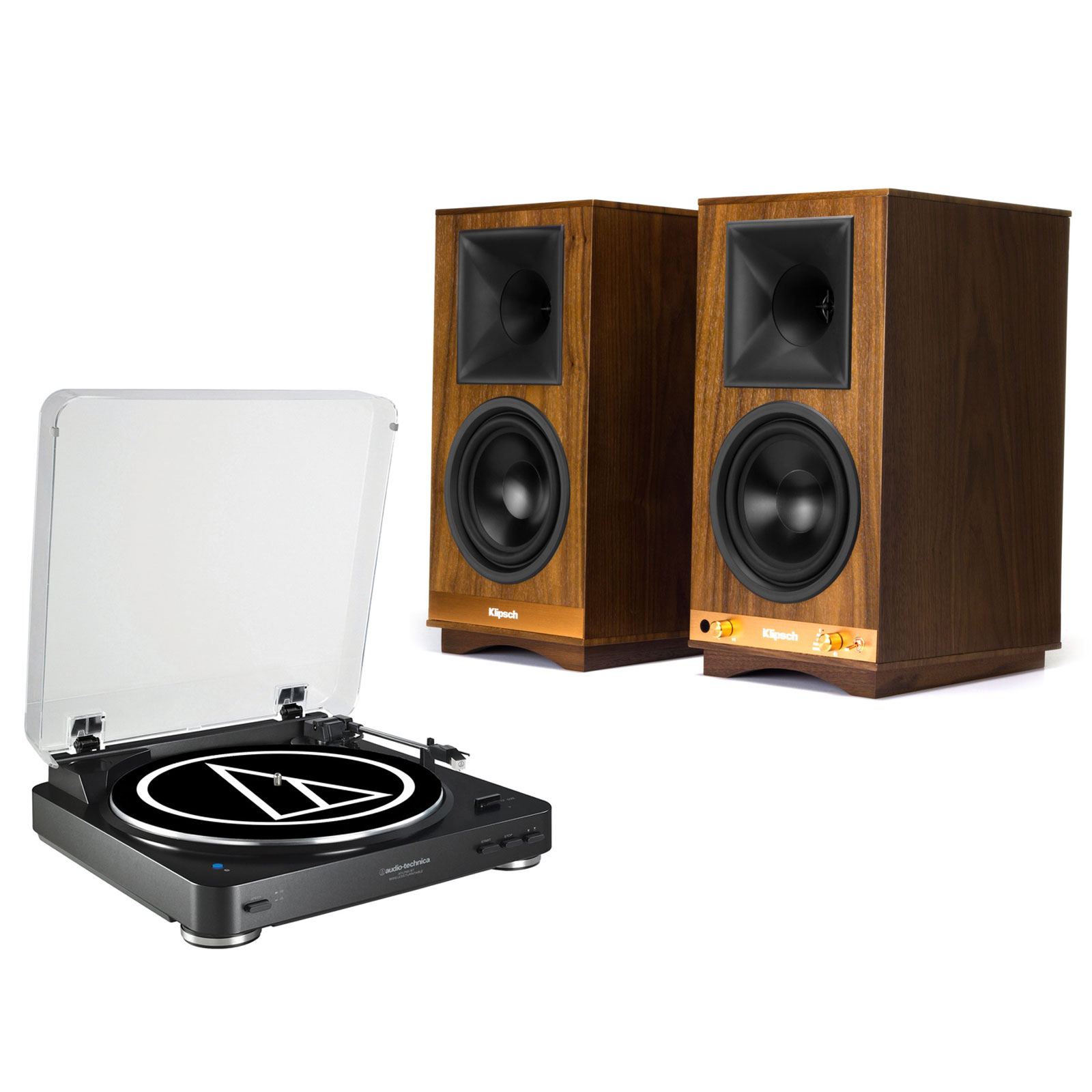 audio technica at lp60bt noir klipsch the sixes. Black Bedroom Furniture Sets. Home Design Ideas