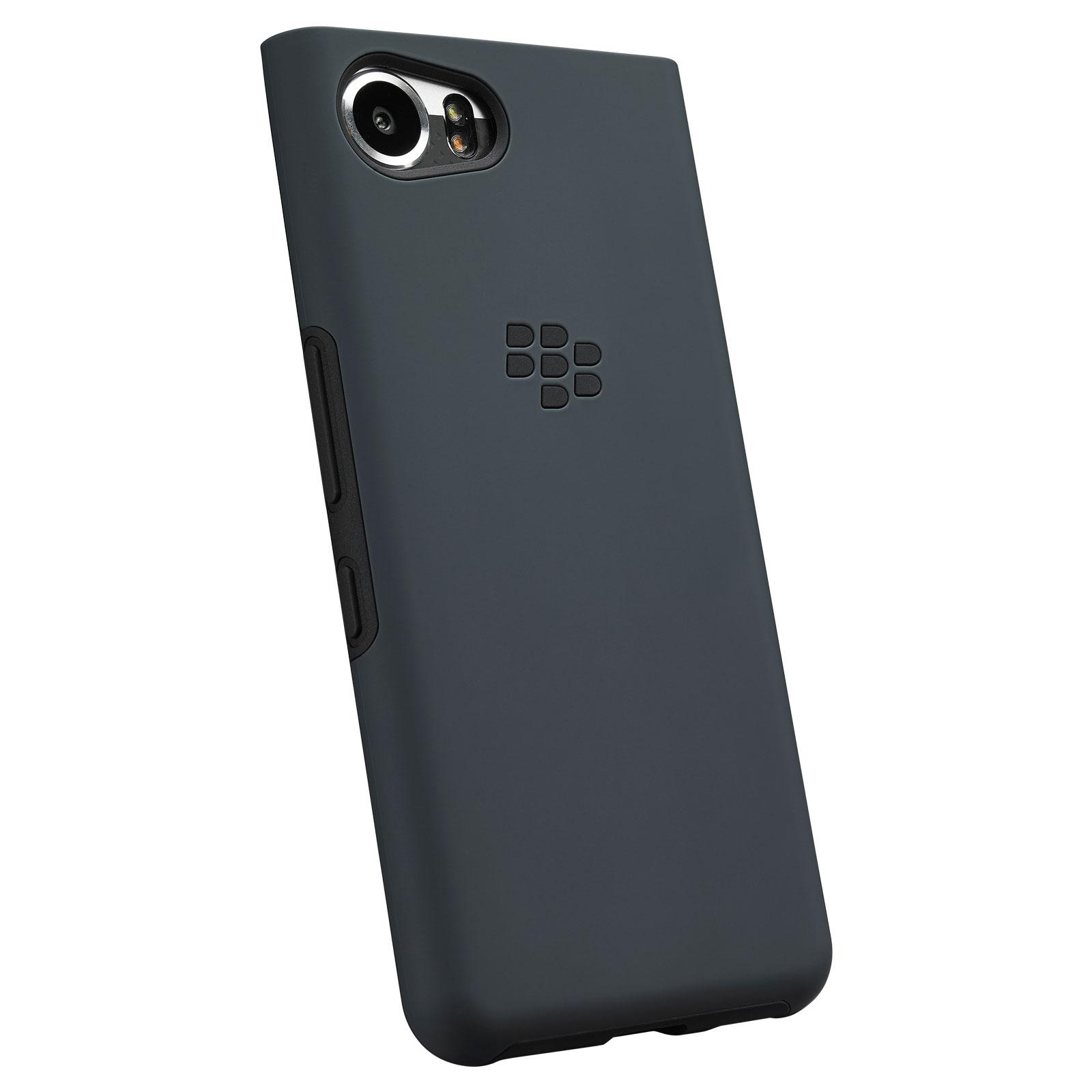 blackberry dual layer shell bleu noir keyone etui t l phone blackberry sur. Black Bedroom Furniture Sets. Home Design Ideas