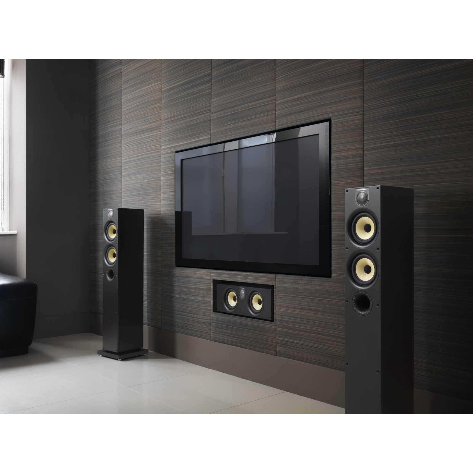 b w 684 s2 black ash enceintes hifi bowers wilkins sur. Black Bedroom Furniture Sets. Home Design Ideas