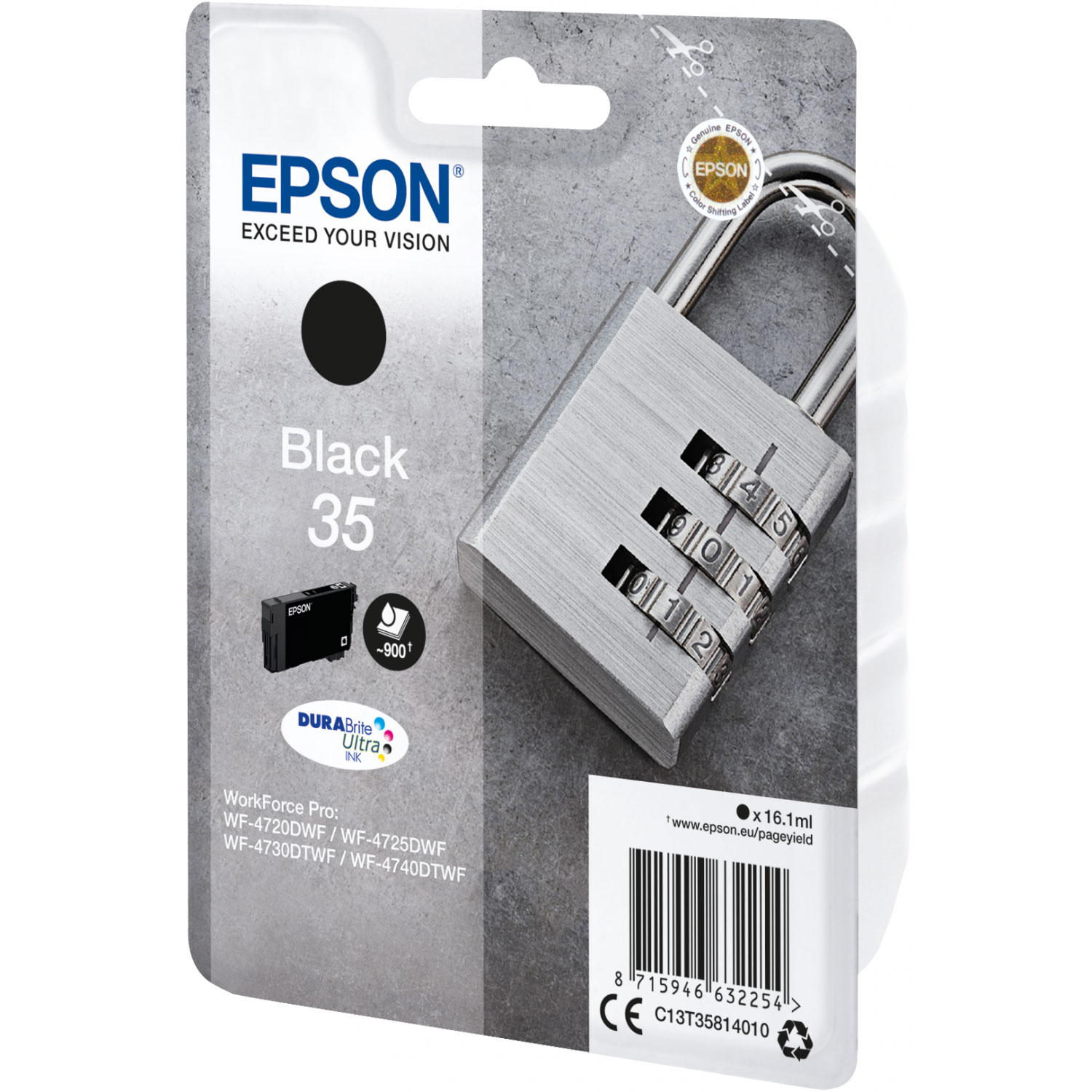 epson cadenas noir 35 cartouche imprimante epson sur. Black Bedroom Furniture Sets. Home Design Ideas