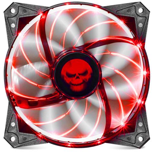 Ventilateur boîtier Spirit of Gamer AirFlow 120 mm Rouge Ventilateur de boîtier 120mm LED rouges