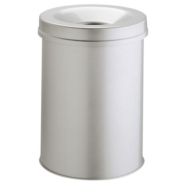 durable corbeille anti feu 15 litres gris poubelle et corbeille durable sur. Black Bedroom Furniture Sets. Home Design Ideas