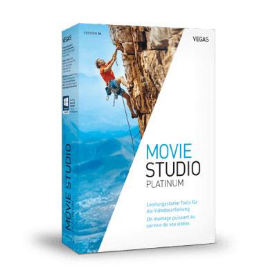 Logiciel Image & Son MAGIX Vegas Movie Studio 14 Platinum Logiciel de composition vidéo (Français, Windows)