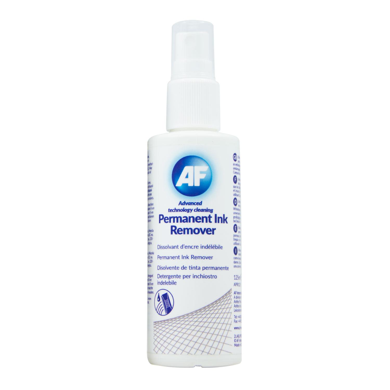 Chiffon, lingette AF Permanent Ink Remover (PIR125) Vaporisateur nettoyant d'encre permanent