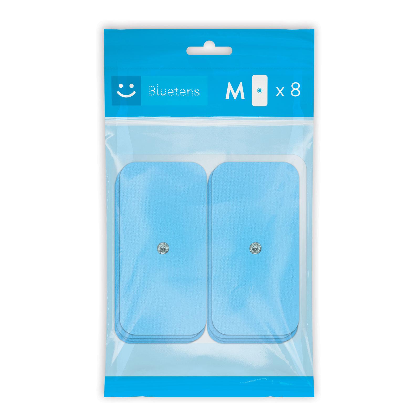 Bracelet connecté Bluetens Bluepack M Lot de 8 électrodes M pour électrostimulateur Bluetens