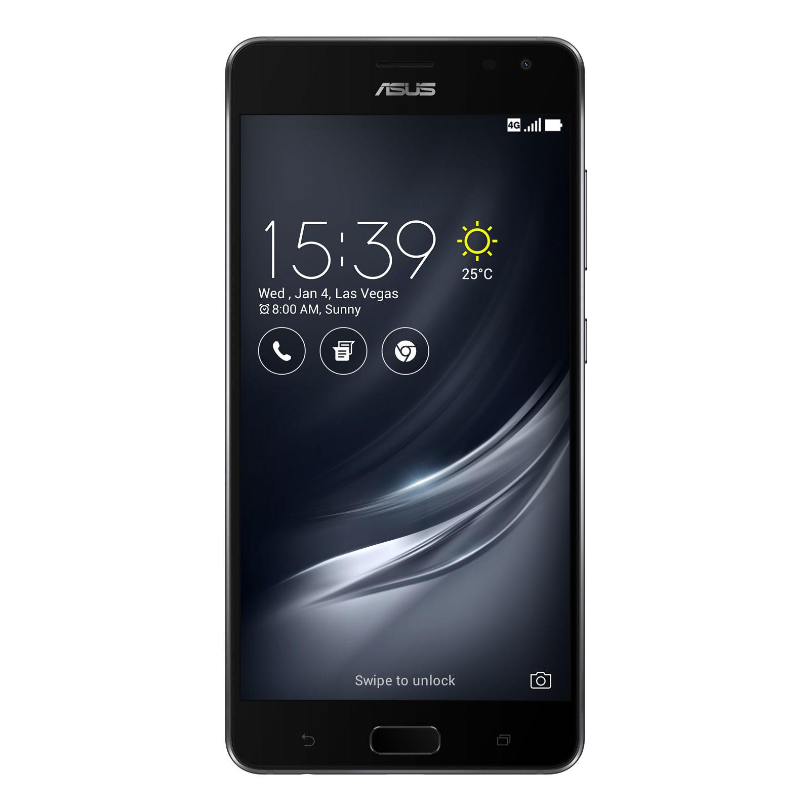 """Mobile & smartphone ASUS ZenFone AR ZS571KL Noir Smartphone 4G-LTE Advanced Dual SIM - Snapdragon 821 Quad-Core 2.35 GHz - RAM 6 Go - Ecran tactile 5.7"""" 1440 x 2560 - 128 Go - NFC/Bluetooth 4.2 - 3300 mAh - Android 7.0"""