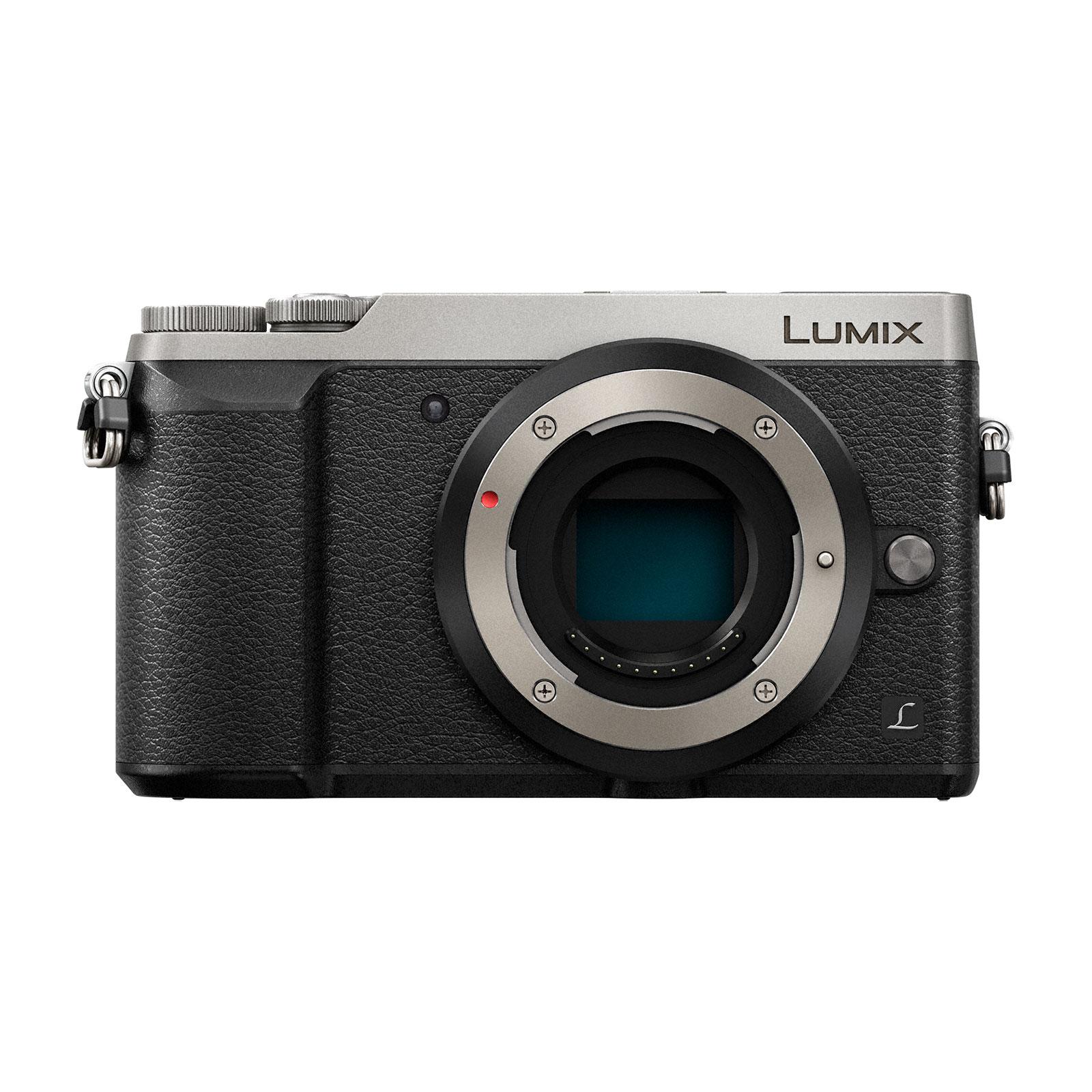 Appareil photo hybride Panasonic DMC-GX80EF-S Argent Appareil photo 16 MP - Zoom numérique 4x - Vidéo 4K - Écran tactile - Wi-Fi (boîtier nu)