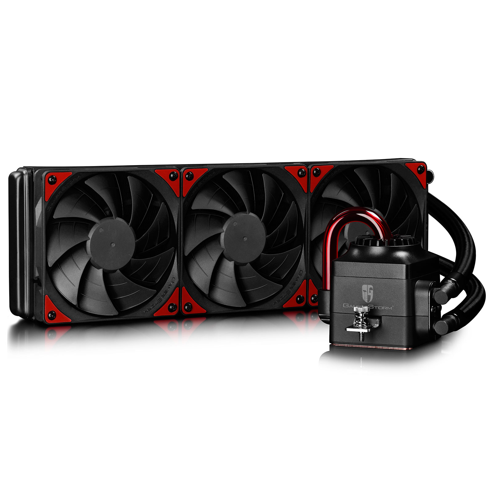 gamer storm captain 360ex noir rouge ventilateur processeur gamer storm sur. Black Bedroom Furniture Sets. Home Design Ideas